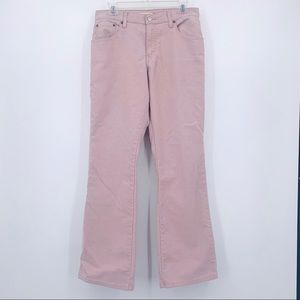 Levi's relaxed fit 550's pink corduroy pants Sz 10